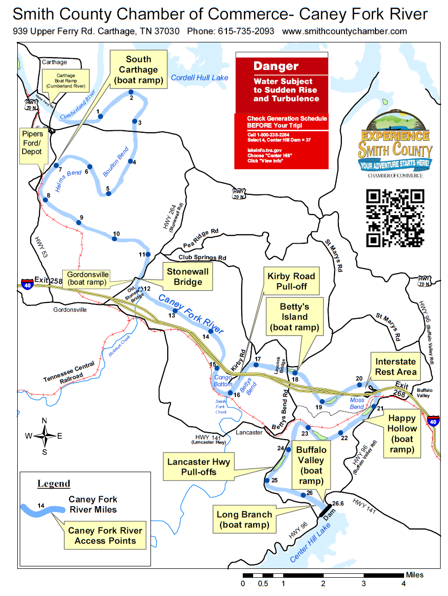 Attractions Experience Smith County - Tva hunting maps