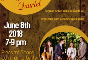 The Jolly String Quartet Poster