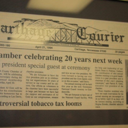 Chamber Article