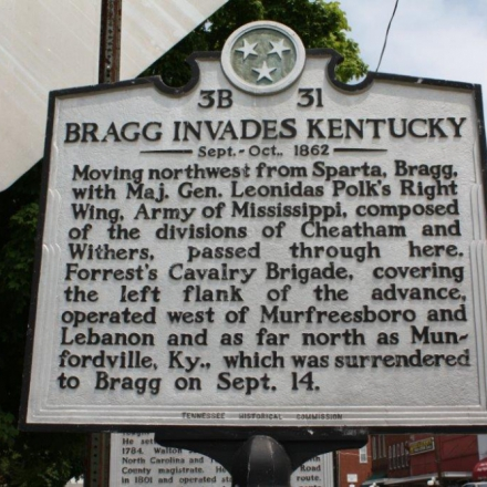 Bragg Invades Kentucky