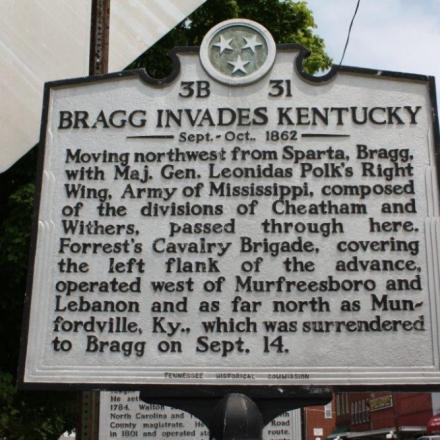 Bragg Invades Kentucky