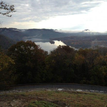 Cordell Hull Lake - Morning From The Overlook